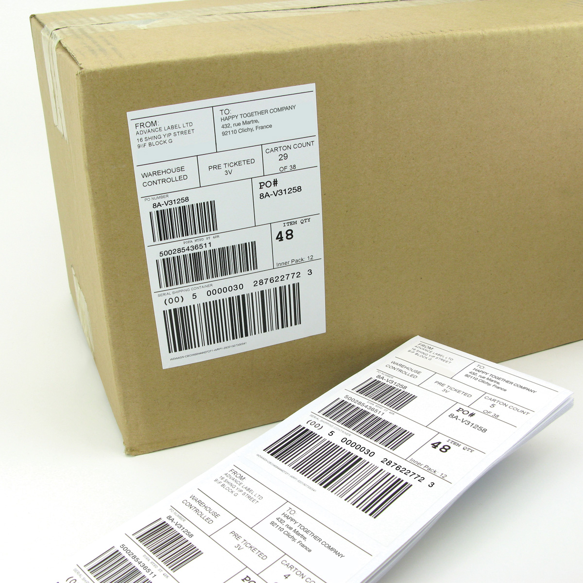 Address / Shipping Label