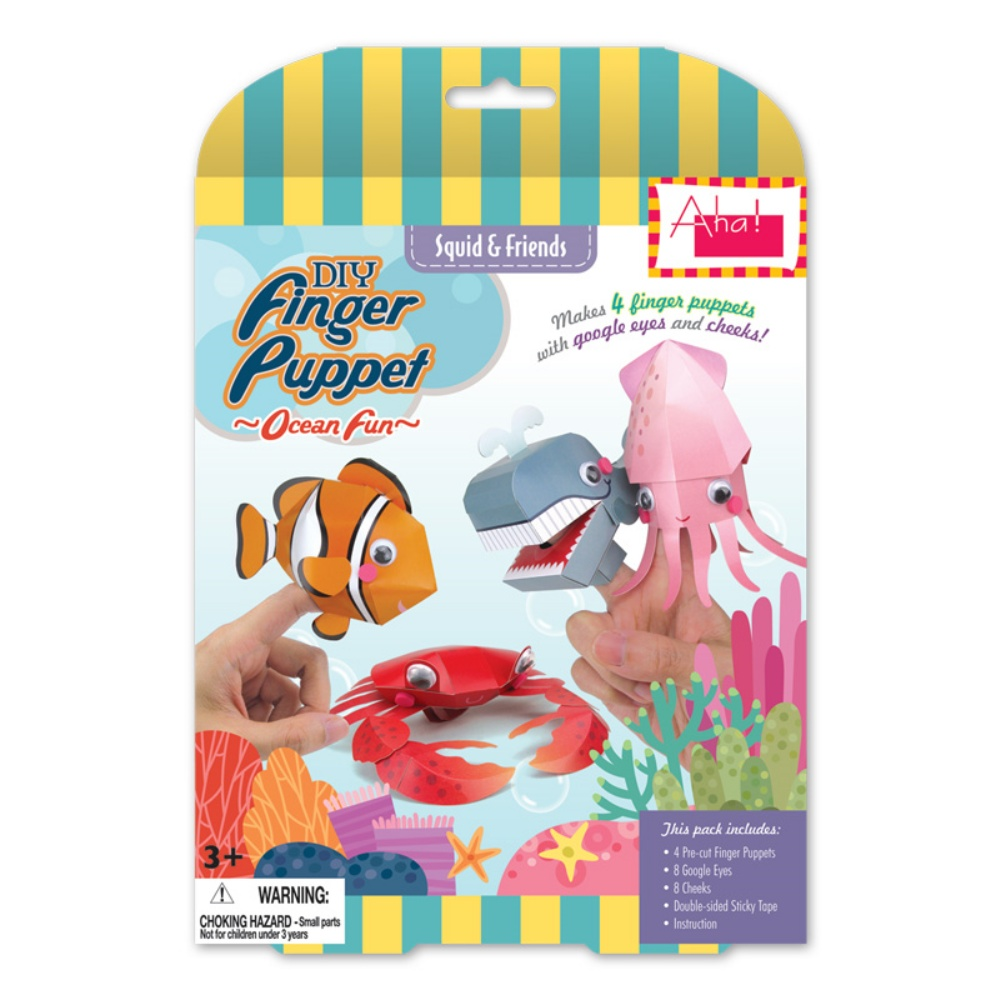 DIY Finger Puppet Ocean Fun Series