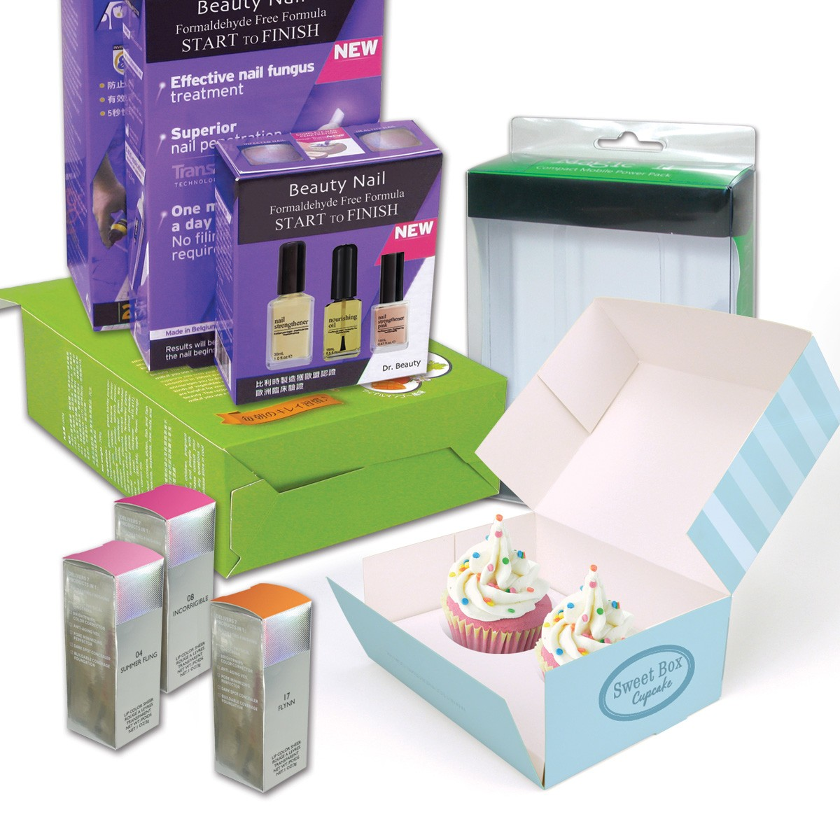 Customized Packaging Box with Different Printing Effects